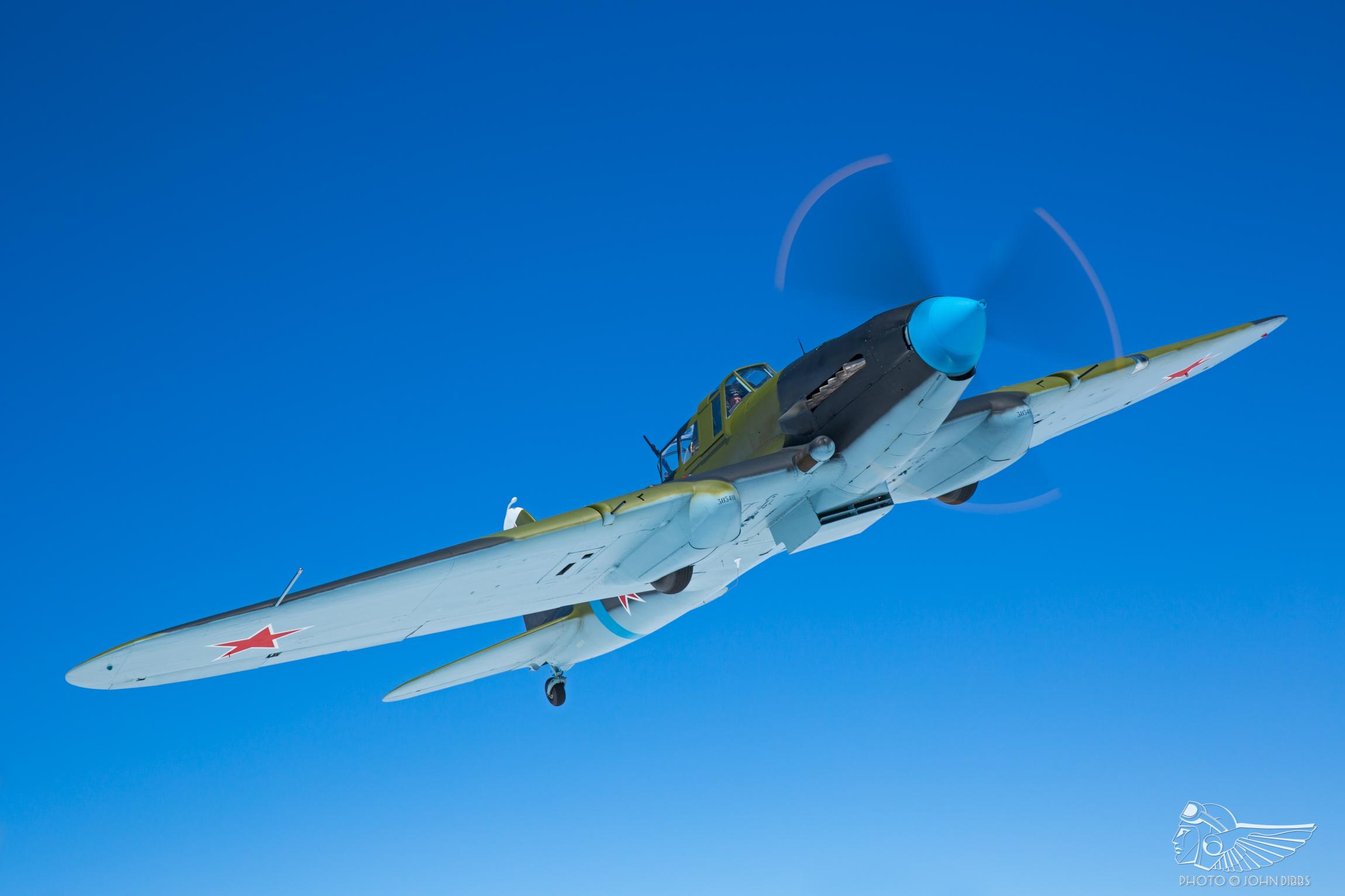 Modern impressions of the legendary IL-2 Sturmovik | The Vintage