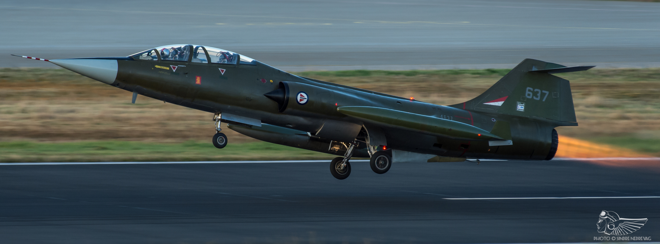 Flight testing Norway's restored CF-104D Starfighter