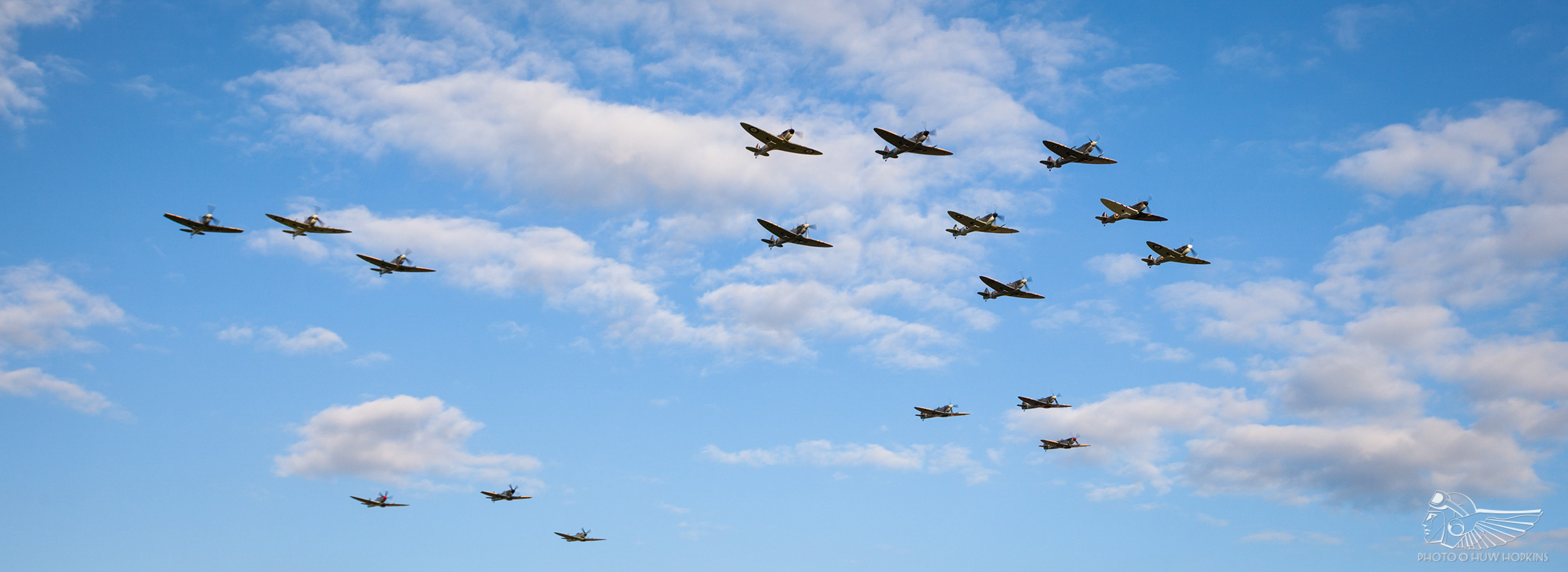Orchestrating Duxford's 17 Spitfire Salute