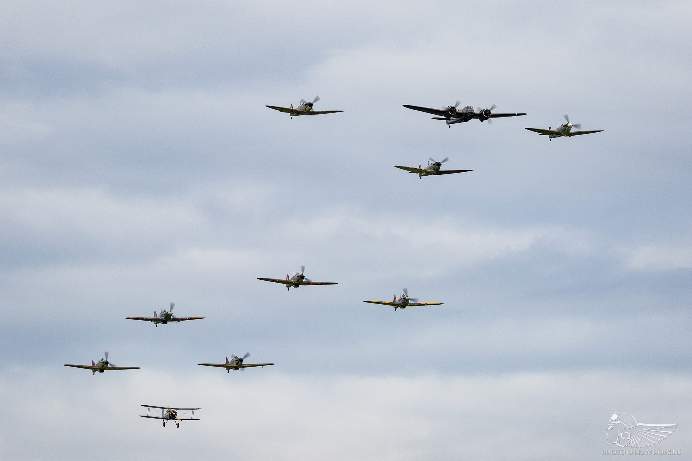iwm duxford's battle of britain spectacular | the vintage aviation echo