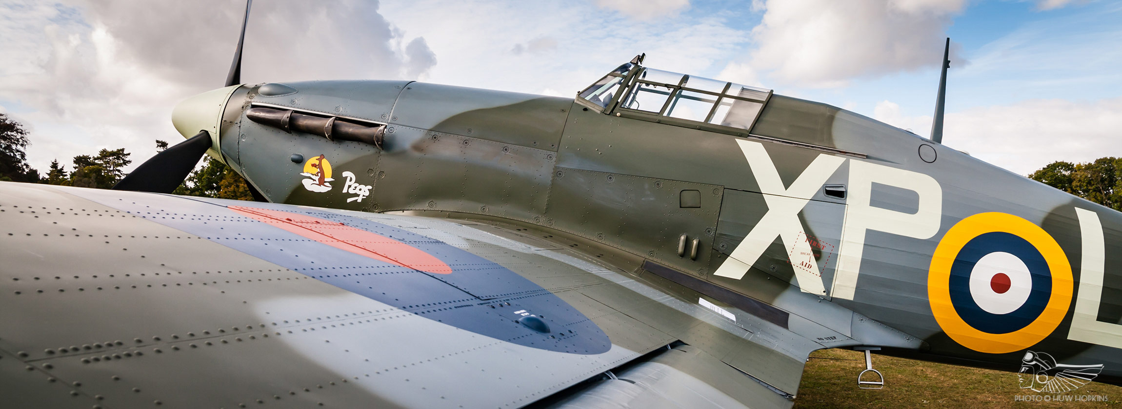 Hurricane BE505 set for two-seat conversion by Hawker Restorations