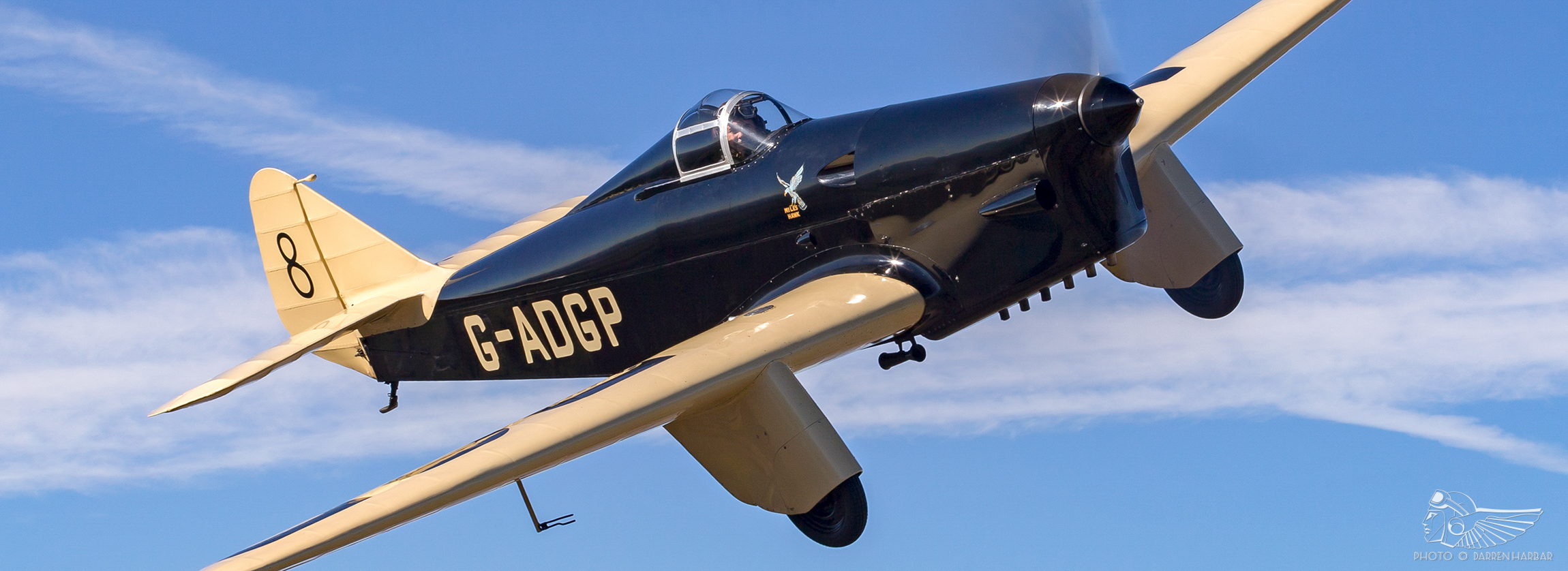 """Every inch the racer"": Flying the Miles Hawk Speed Six"