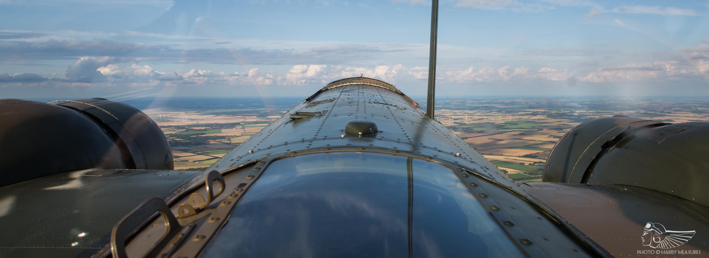 Taking flight in the Bristol Blenheim