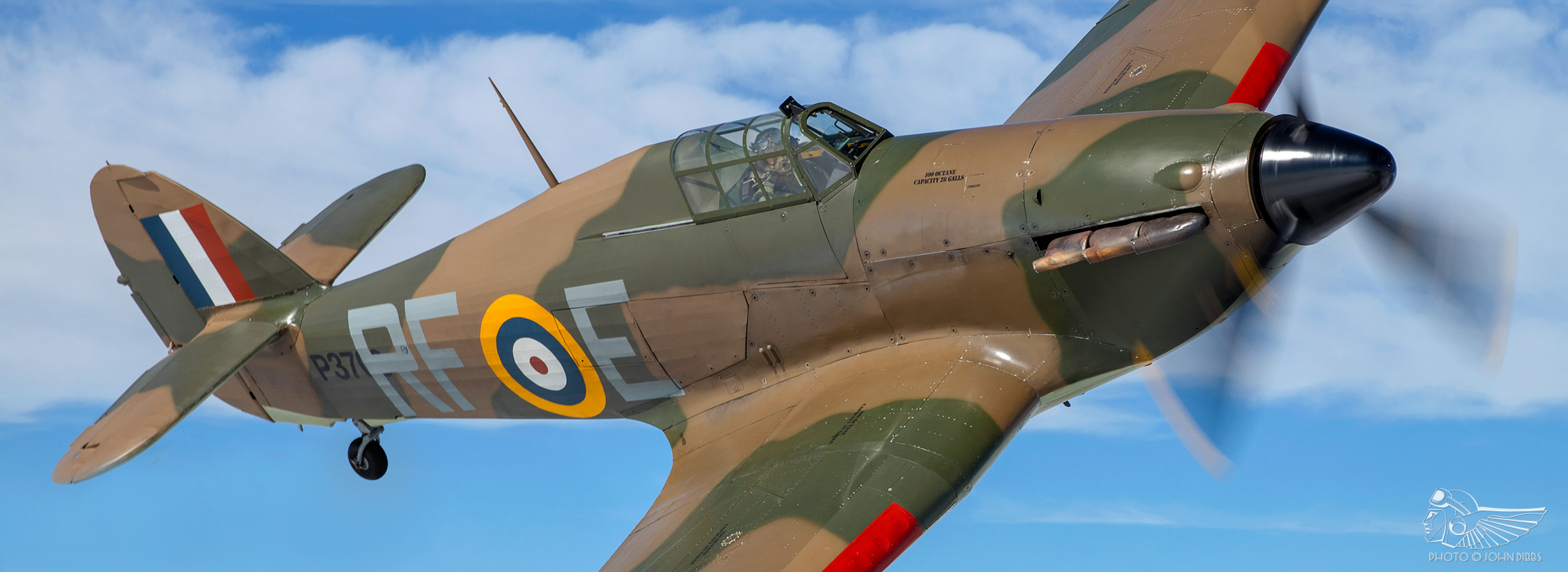 Adventures in the Historic Aircraft Collection's Hurricane