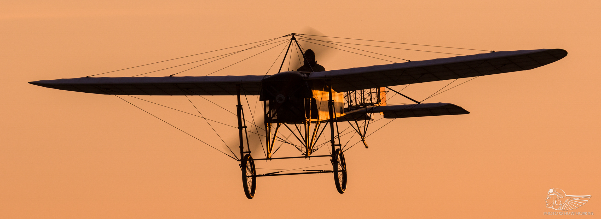"""Unlearn what you know about conventional flight"": Mikael Carlson on flying the Blériot XI"