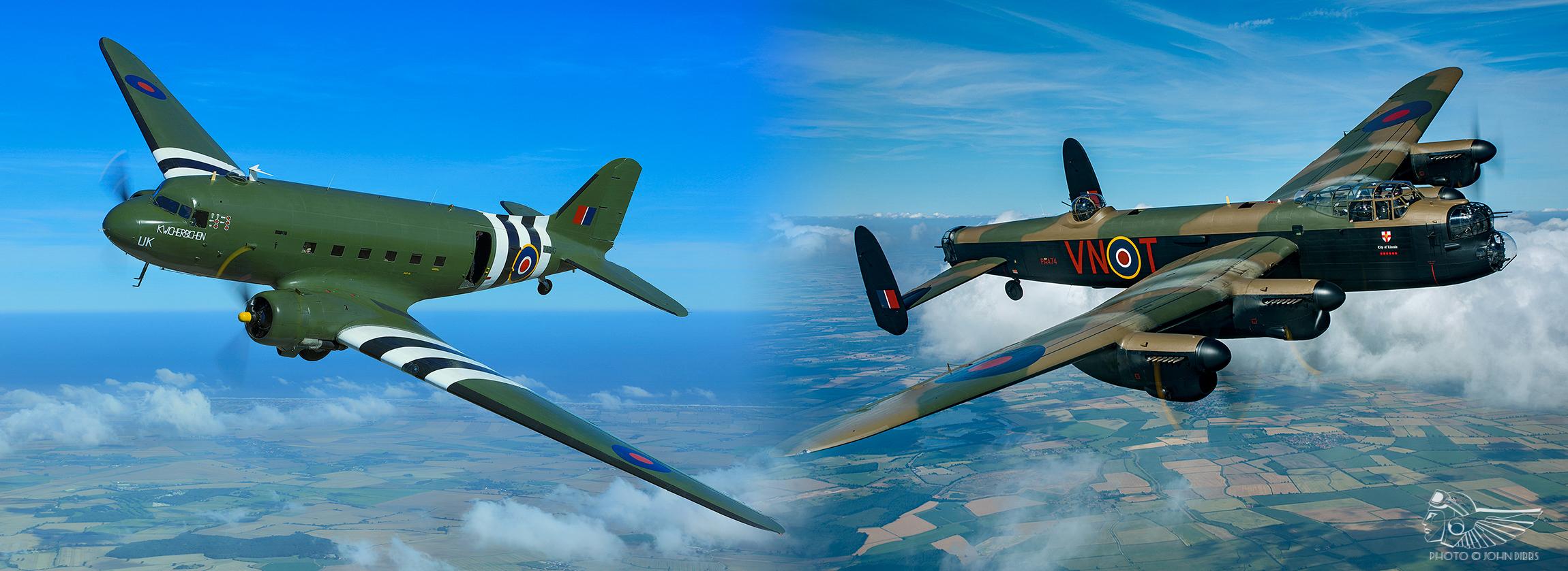 Bringing through the BBMF's modern day Bomber Crews