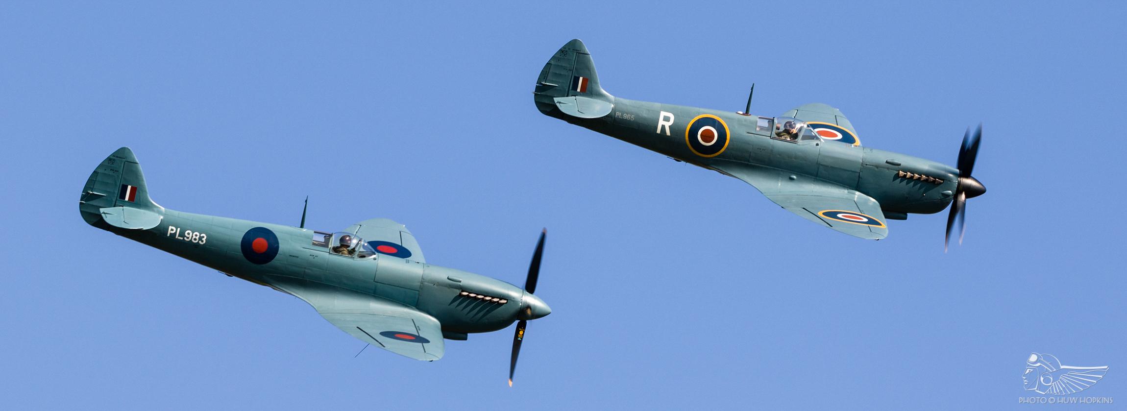 PR.XI Spitfires snap up the limelight at Shuttleworth