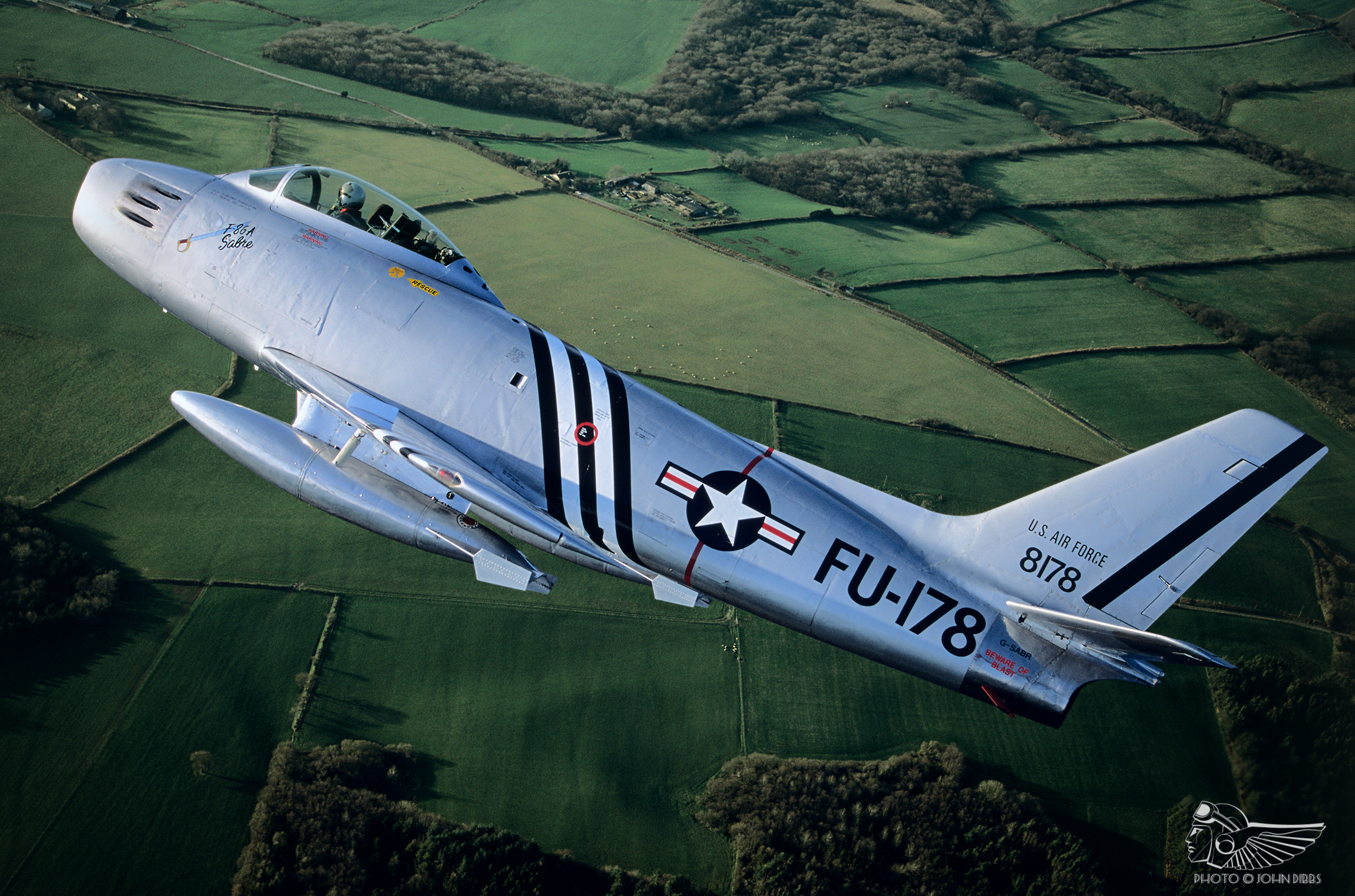 F 86a Sabre The Test Pilots Perspective Vintage Aviation Echo Ailerons Control Roll Of An Airplane Is Demand That They Place On Hydraulic System Which Limited Power And Capacity By Modern Standards Flight Controls Are