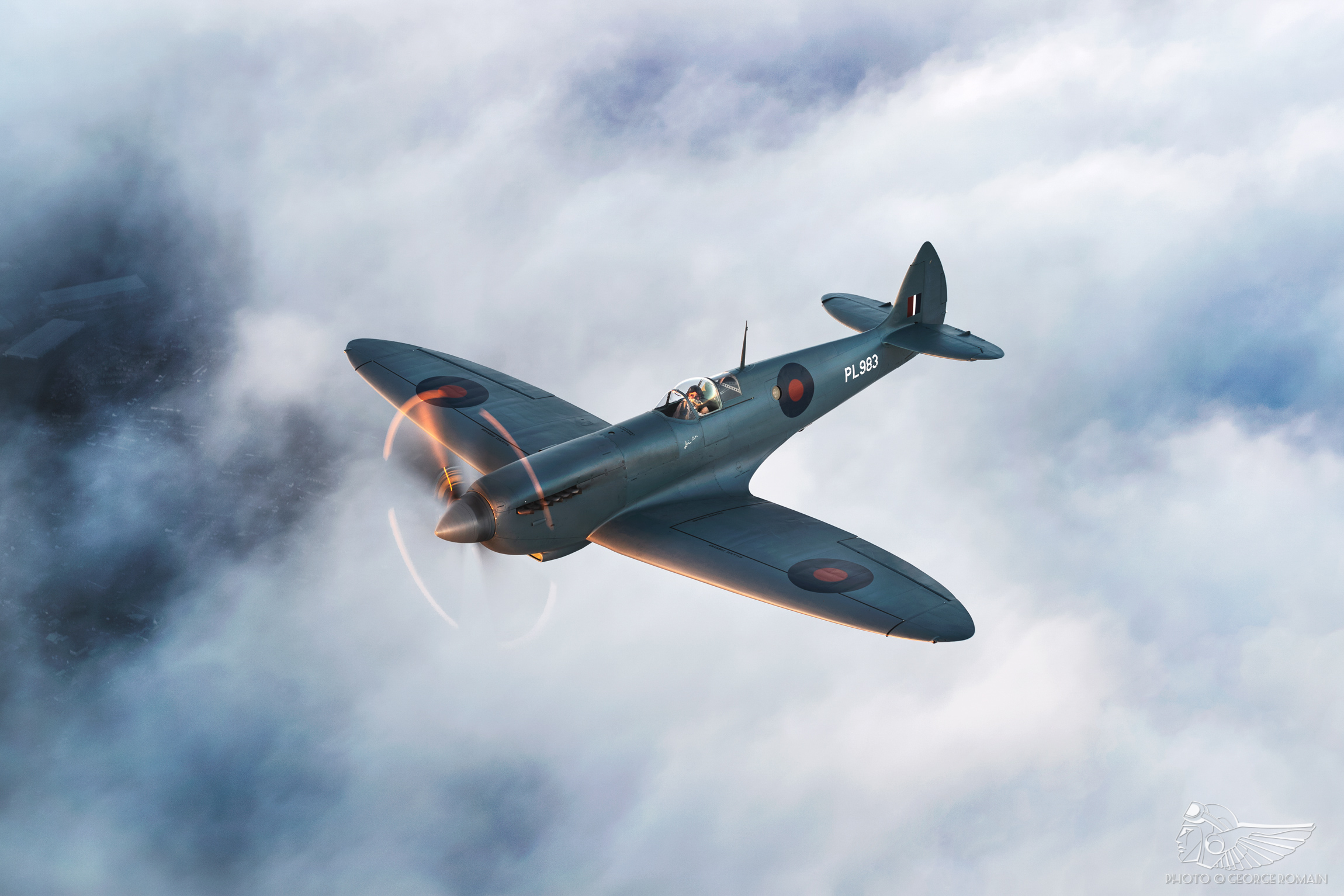 A History: John Romain and Spitfire PR XI PL983 | The